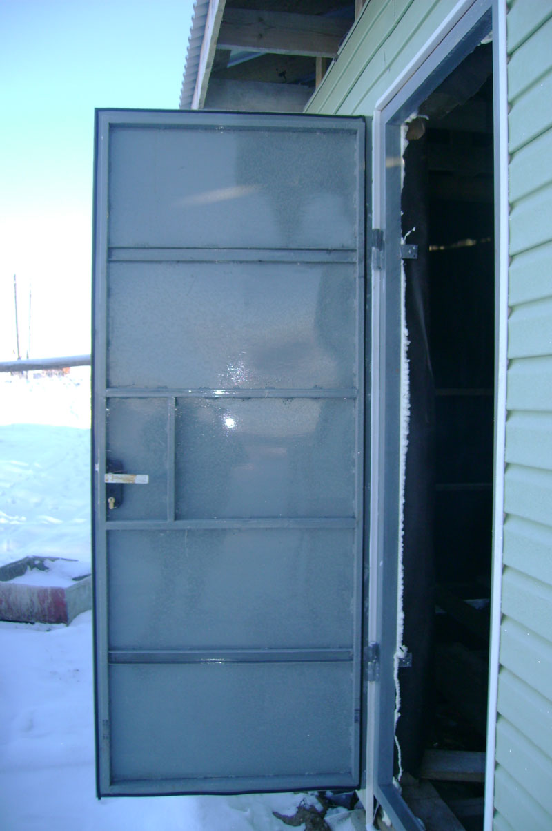 Фото металлические двери своими руками