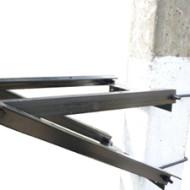 кронштейн крепежный на столб