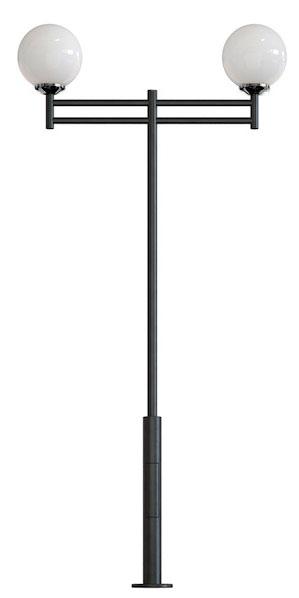 Фонарный столб два фонаря