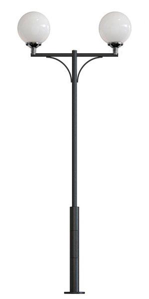 Фонарный столб два плафона