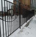 Забор на Кавалерийской